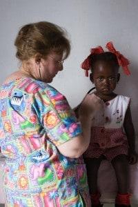 Mother-Child program in Haiti