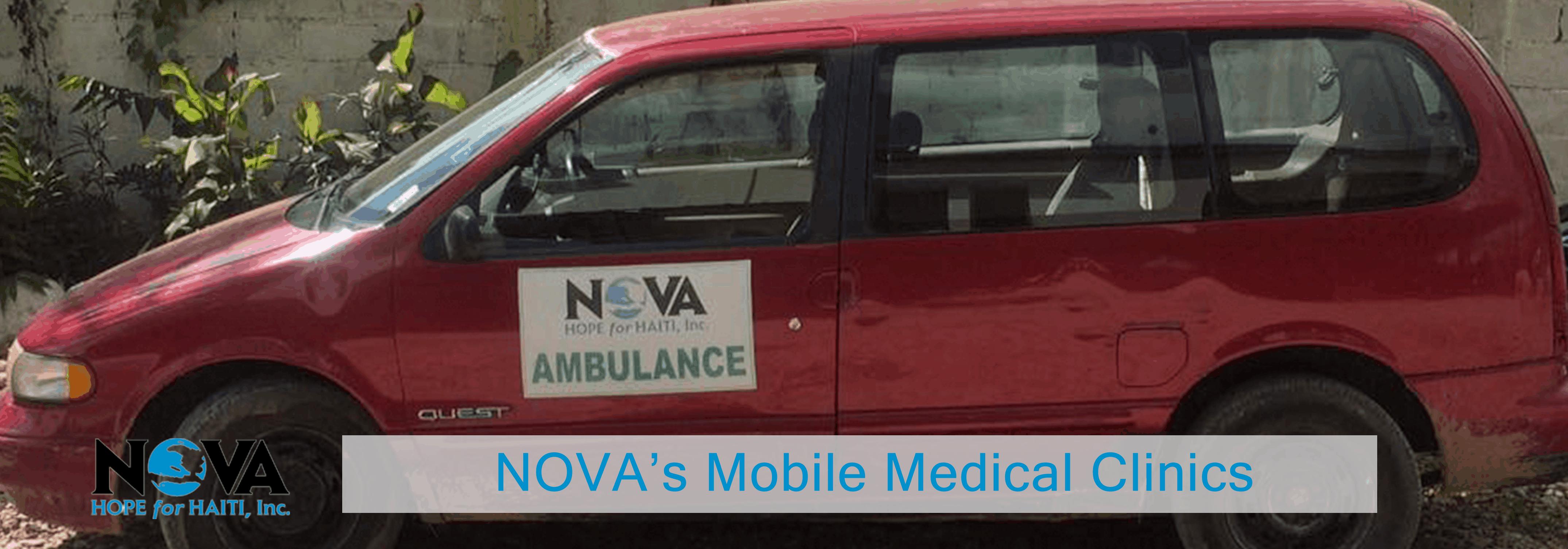 NOVA's Mobile Medical Clinics